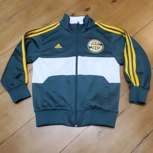 Seattle Supersonics retro warmup, Youth Small